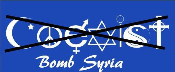 Coexist Bomb Syria